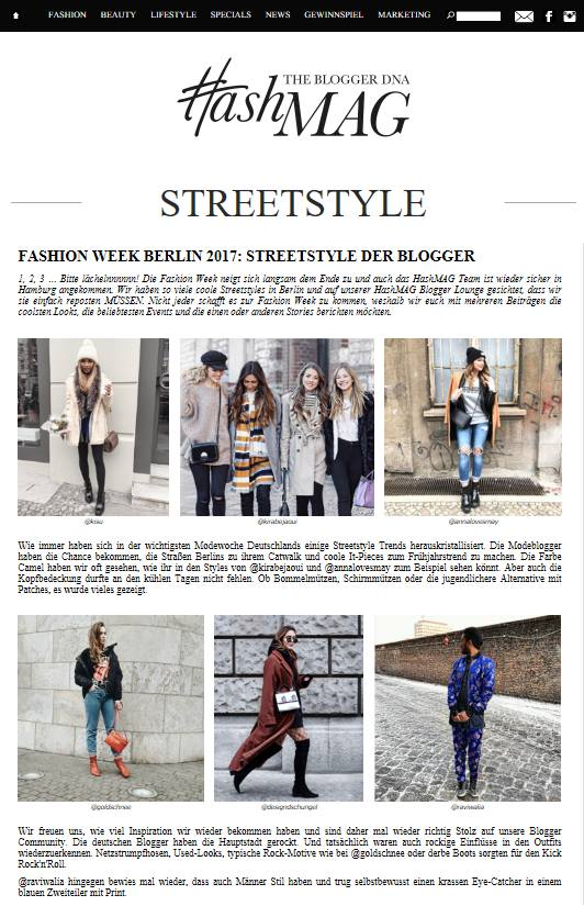 HASHMAG.de - besten Berliner Fashion Weeks Looks